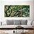 Conjunto com 03 quadros decorativos Árvore 50x70cm (LxA) Moldura Preta - Imagem 1