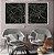 Conjunto com 02 quadros decorativos Linhas  - Imagem 3