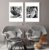 Conjunto com 02 quadros decorativos Folhas  - Imagem 3