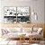 Conjunto com 02 quadros decorativos Cinza - Imagem 3