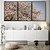 Conjunto com 03 quadros decorativos Árvore Cerejeira  - Imagem 3