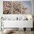 Conjunto com 03 quadros decorativos Árvore Cerejeira  - Imagem 1