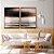 Conjunto com 02 quadros decorativos Abstrato Preto, Marrom e Cinza - Imagem 2