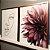 ENVIO IMEDIATO - Conjunto com 02 quadros decorativos Femme 50x70cm (LxA) Moldura Rose Gold - Imagem 1