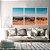 Conjunto com 03 quadros decorativos Horizonte - Imagem 2