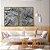 Conjunto com 02 quadros decorativos Galhos em Preto e Branco - Imagem 3