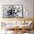 Conjunto com 02 quadros decorativos Flor - Imagem 2