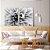 Conjunto com 02 quadros decorativos Flor - Imagem 3