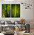 Conjunto com 02 quadros decorativos Folhas Tropicais - Imagem 1