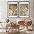 Conjunto com 02 quadros decorativos Delicadeza  - Imagem 3