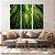 Conjunto com 03 quadros decorativos Floresta de Bambu - Imagem 3