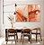 Conjunto com 02 quadros decorativos Abstrato Vermelho e Dourado - Imagem 4