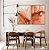 Conjunto com 02 quadros decorativos Abstrato Vermelho e Dourado - Imagem 1