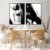 Conjunto com 02 quadros decorativos Pintura Abstrata - Imagem 1