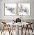 Conjunto com 02 quadros decorativos Abstrato Cores Suaves - Imagem 1