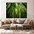 Conjunto com 02 quadros decorativos Bambu 60x120cm (LxA) Moldura cor Amadeirada Amêndoa - Imagem 1