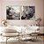 Conjunto com 02 quadros decorativos Abstrato Preto, Dourado e Cobre 70x70cm (LxA) Moldura cor Cobre - Imagem 1