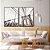Conjunto com 02 quadros decorativos New York 40x60cm (LxA) Moldura cor Preto - Imagem 1