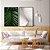 Conjunto com 02 quadros decorativos Botanic Geometric 40x60cm (LxA) Moldura cor Preto - Imagem 1