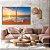Conjunto com 02 quadros decorativos Pôr do Sol na Praia - Imagem 2