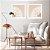 Conjunto com 02 quadros decorativos Dente-de-leão  - Imagem 1