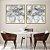 Conjunto com 02 quadros decorativos Abstrato Movimento - Imagem 4