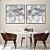 Conjunto com 02 quadros decorativos Abstrato Movimento - Imagem 3