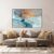 Quadro decorativo Abstrato Azul Gold - Imagem 3