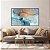 Quadro decorativo Abstrato Azul Gold - Imagem 2