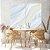 Conjunto com 02 quadros decorativos Abstrato Suave - Imagem 2