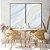 Conjunto com 02 quadros decorativos Abstrato Suave - Imagem 3