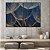 Conjunto com 02 quadros decorativos Dente-de-leão Azul Escuro - Imagem 3