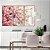 Conjunto com 03 quadros decorativos Galhos de Cerejeira - Imagem 4