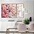 Conjunto com 03 quadros decorativos Galhos de Cerejeira - Imagem 5