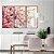 Conjunto com 03 quadros decorativos Galhos de Cerejeira - Imagem 1