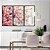 Conjunto com 03 quadros decorativos Galhos de Cerejeira - Imagem 3