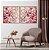 Conjunto com 02 quadros decorativos Galhos Cerejeira - Imagem 2
