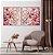 Conjunto com 02 quadros decorativos Galhos Cerejeira - Imagem 5