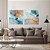 Conjunto com 02 quadros decorativos Abstrato Azul Gold - Imagem 3