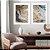 Conjunto com 02 quadros decorativos Arte Abstrata Fluída - Imagem 3