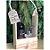Porta Garrafa de Vinho e Taça em Madeira Crú 19x11x34cm - 1 un. Rizzo - Imagem 4
