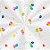 Saco Transparente Decorado Festa dos Balões - 10x14cm - 100 unidades - Cromus - Rizzo - Imagem 1