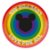 Prato de Papel Festa Mickey Arco-Íris - 12 unidades - Regina - Rizzo - Imagem 1