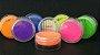 Pó para decoração, Brilho para Superficie Colorê Laranja Claro Flúor 2g LullyCandy Rizzo Confeitaria - Imagem 1