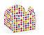 Forminha 4 Pétalas Bolinhas Coloridas Cod. 10.49 com 50 un. Nc Toys Rizzo Confeitaria - Imagem 1