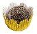 Forminha de Papel N° 3 Recortada Ouro Metalizada com 50 un. Cod. 3209 Mago Rizzo Confeitaria - Imagem 1