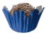 Forminha de Papel N° 3 Recortada Azul Royal com 100 un. Cod. 3278 Mago Rizzo Confeitaria - Imagem 1