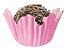 Forminha de Papel N° 4 Recortada Rosa com 100 un. Cod. 3202 Mago Rizzo Confeitaria - Imagem 1