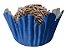 Forminha de Papel N° 4 Recortada Azul Royal com 100 un. Cod. 3121 Mago Rizzo Confeitaria - Imagem 1