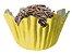 Forminha de Papel N° 5 Recortada Amarela com 100 un. Cod. 3255 Mago Rizzo Confeitaria - Imagem 1